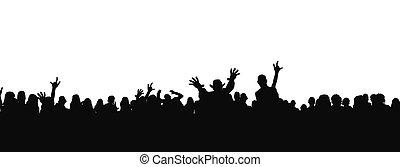 funs, auf, der, concert