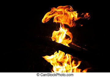 fuoco, astratto