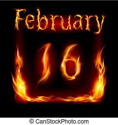 fuoco, calendario