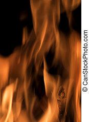 fuoco, closeup