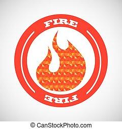 fuoco, concetto