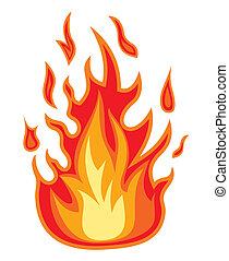 fuoco, fiamma