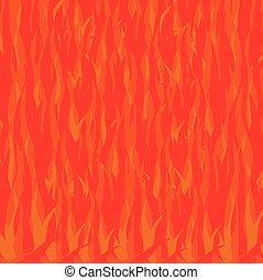 fuoco, fondo, astratto, shapes., illustrazione