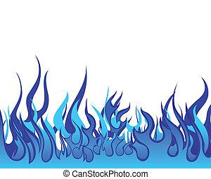 fuoco, fondo