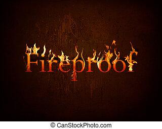 fuoco, ignifugo