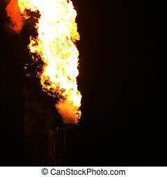 fuoco, industria