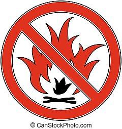 fuoco, no