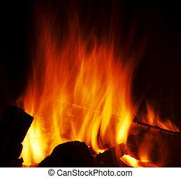 fuoco, struttura