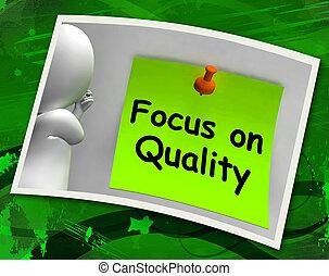 fuoco, su, qualità, foto, mostra, eccellenza, e, soddisfazione, guarant