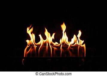 fuoco, warming