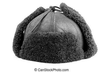Fur cap for winter