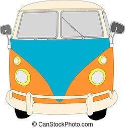 furgone campeggiatore, scarabeo
