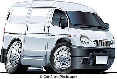 furgone, cartone animato