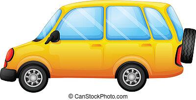 furgone, giallo