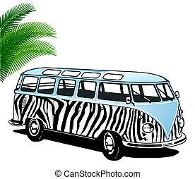 furgone, hippie