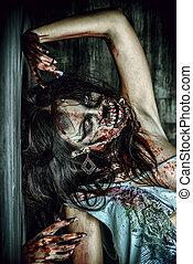 furieux, zombi
