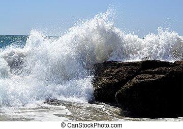 Furious waves