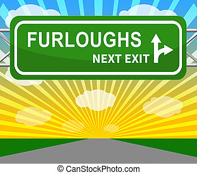 Furloughed Employees Or Redundant Staff Sent Home - 3d ...