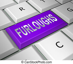 Furloughed Or Redundant Employees Sent Home - 3d ...