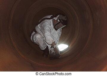 Furnace boiler clean