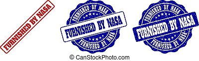 FURNISHED BY NASA Scratched Stamp Seals