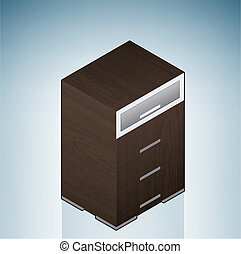 Furniture: Bedroom Chest of Drawers