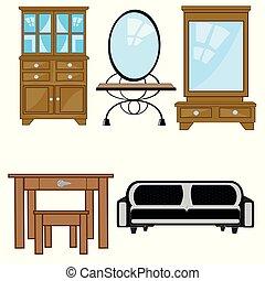 Furniture for apartment