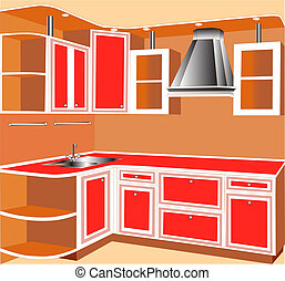 kitchens of the red