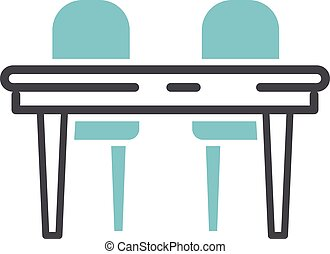 Furniture icon vector illustration