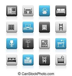 Furniture Icons // Matte Series