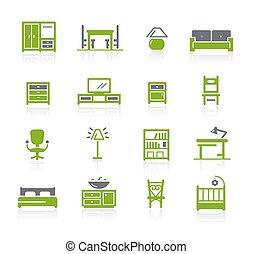 Furniture Icons // Natura Series