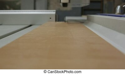 Furniture manufacturing, close up