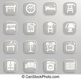 Furniture simply icons