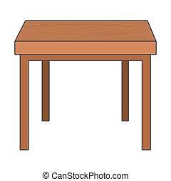 furniture table cartoon