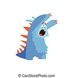 Furry Childish Monster Chasing