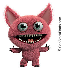 furry gremlin - monster