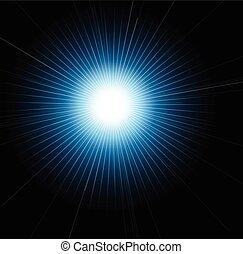 fusée objectif, bokeh, effet étoile