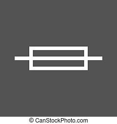 Fuse, box, electric icon vector image. Can also be used for ...
