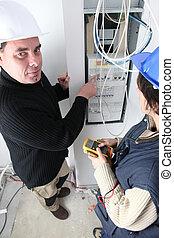 fusebox, elektriker