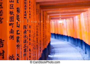 fushimi, 京都, 神社, inari, 日本, taisha