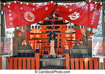 Fushimi Inari-taisha Shrine in Kyoto Japan, This shrine ...