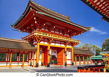 Fushimi Inari Taisha Shrine - Kyoto, Japan for adv or others...