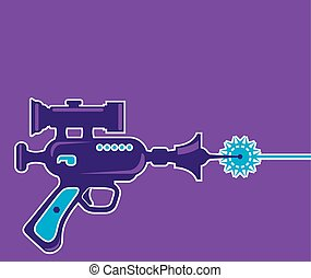 fusil laser