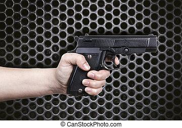 fusil main