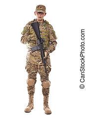 fusil, soldat