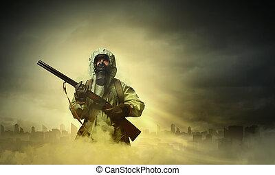 fusil, stalker