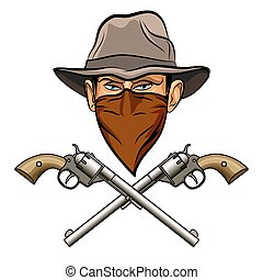 fusils, bandit