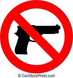 fusils, non