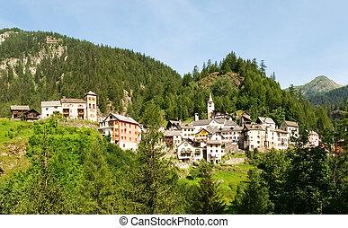 Fusio Vallemaggia, Ticino, Switzerland: The Village of Fusio...