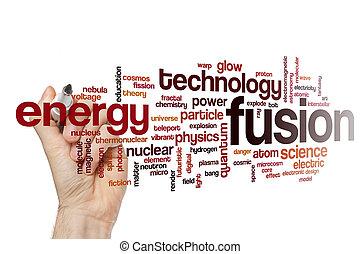 Fusion word cloud concept